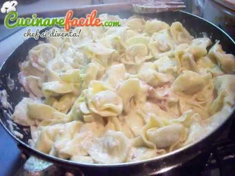 tortellini panna e prosciutto cotto - ricetta