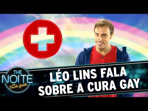 Léo Lins fala sobre a Cura Gay  | The Noite (12/10/17)
