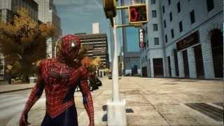 The Amazing Spider-Man PC Game - Raimi Classic Red & Blue Suit Mod - H1Vltg3