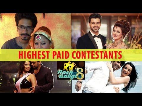 Highest Paid Celebrity Contestants of Nach Baliye