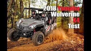 6. 2018 Yamaha Wolverine X4 Test Review