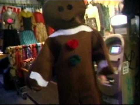 Gingerbread Man Needs Some Cash