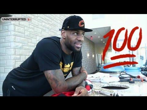 LeBron James Reaction to Toronto Raptors' win over Bucks