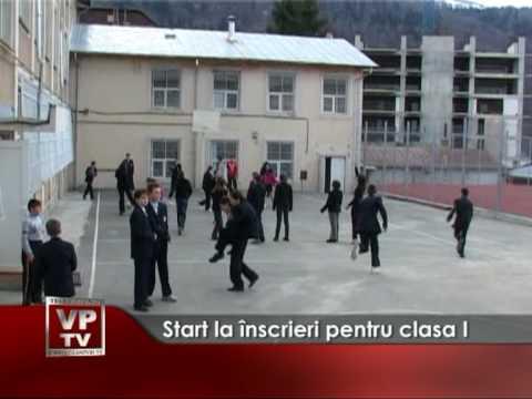 Start la înscrieri pentru clasa I