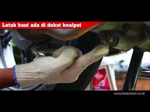 DIY Ganti Oli Motor Matic