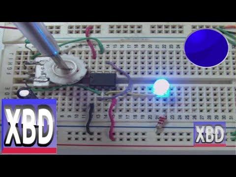 conectar 555 Generador de Pulso solo  armado  XBD