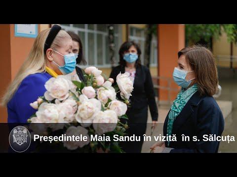 Президент Майя Санду посетила с рабочим визитом район Кэушень