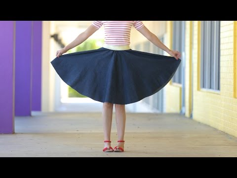 Video How to make a Circle Skirt - for any age + any size download in MP3, 3GP, MP4, WEBM, AVI, FLV January 2017