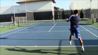 Tennis With Matt Lin (Highlights) @ Los Cab Tennis