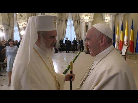 Ο Πάπας Φραγκίσκος στη Ρουμανία