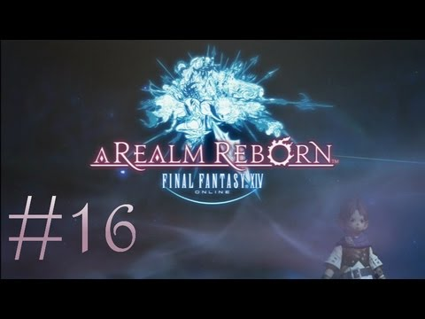Final Fantasy XIV: A Realm Reborn (PS3) Commentary #16: Garibald the Fargone & Masked Man Duel