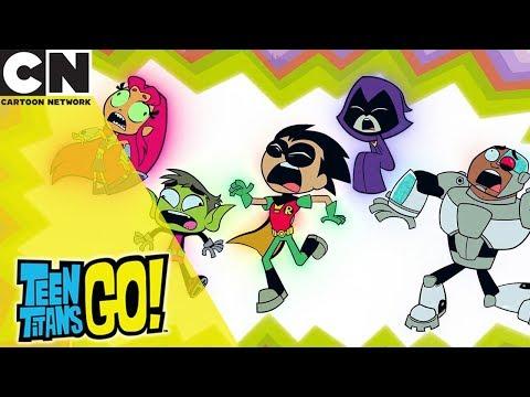 Steven Universe - Teen Titans Go!  Seven Deadly Enemies  Cartoon Network UK