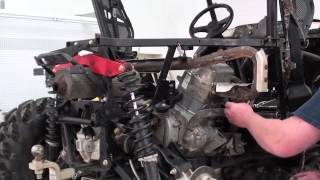1. Pt.4 Polaris RZR 800 Top End Overhaul At D-Ray's Shop
