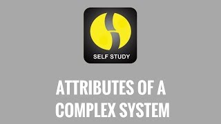 Attributes of a complex system