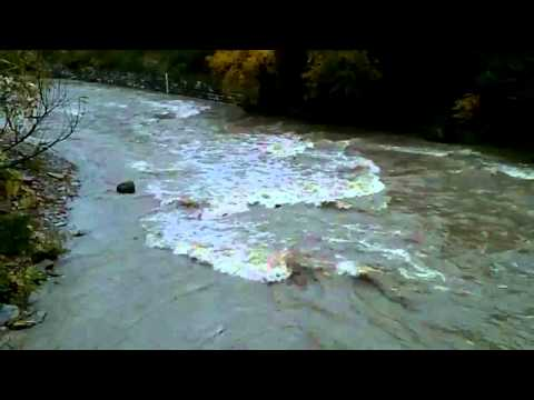 Steelhead Fishing Walnut Creek Erie Pa 10-21-2011 Water Conditions