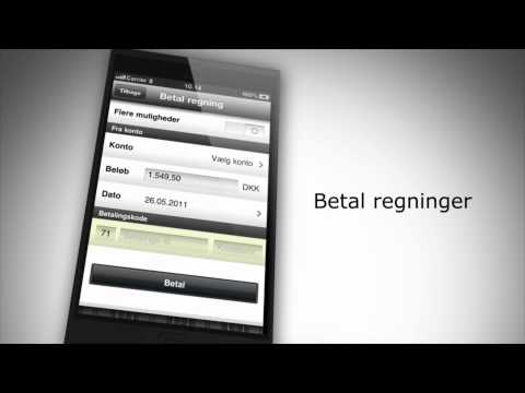 Video of Kreditbankens Mobilbank