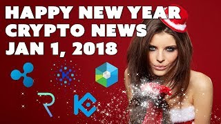 Crypto News Weekly Recap - Jan 1, 2018 - Ripple Raiblocks Request KuCoin Kin XP