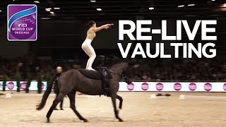 RE-LIVE | FEI World Cup™ Vaulting - 1st competition | Paris Horse Week