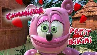 PETIT BIKINI Funny Bear FRENCH Gummibär The Gummy Bear Itsi Bitsi Bikini Francais