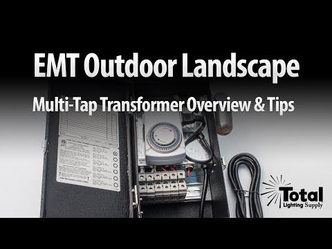 EMT Outdoor Landscape Multi-Tap Transformer Overview & Tips