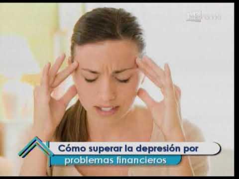 Cómo superar la depresión por problemas financieros