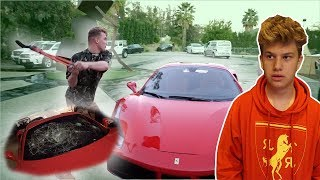 Video Jake Paul smashed my Ferrari's windshield **NOT CLICKBAIT** MP3, 3GP, MP4, WEBM, AVI, FLV April 2018