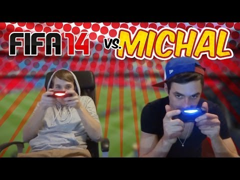 Jirka Hraje - Fifa14 vs Michal!