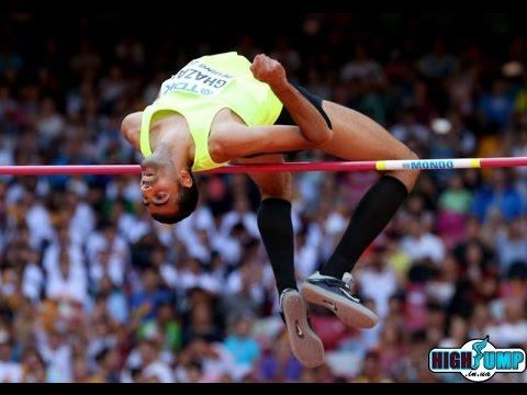 Majd Eddin Ghazal 2.36  PB NR WL ( IAAF World Challenge Beijing 18.05.2016. Men high jump )
