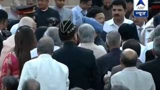 Former PM Manmohan Singh at Rashtrapati Bhawan to attend Modi's swearing-in ceremony