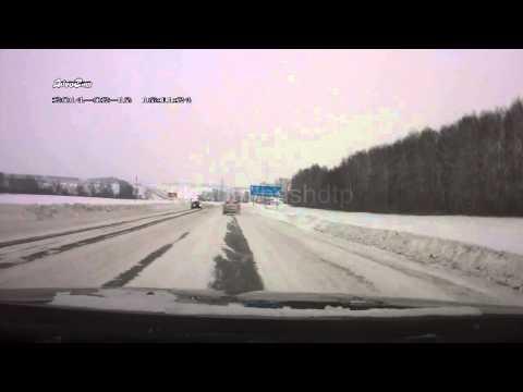 Смертельное ДТП в Стерлитамакском районе 13.02.2014 (видео)