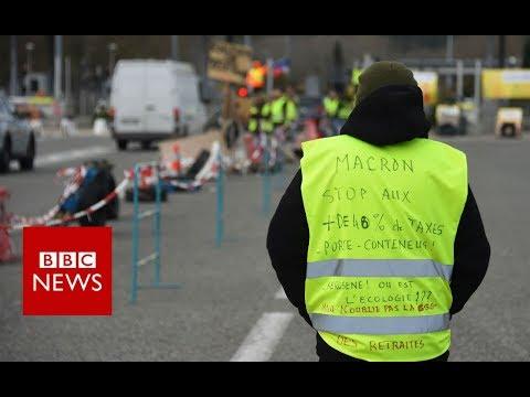 Yellow Vests: Is the symbol spreading across Europe? - BBC News