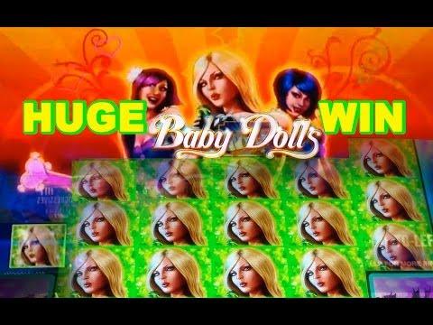 MAX BET – Baby Dolls 2¢ -HUGE WIN! – *NEW GAME* –  Slot Machine Bonus