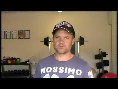 Chris on Baxter Basics Personal Training