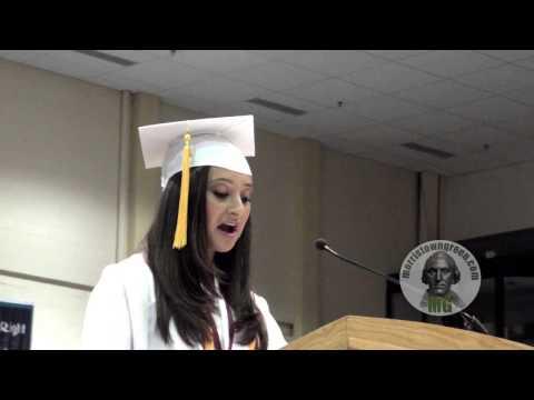 Jacqueline Reingold graduation selfie