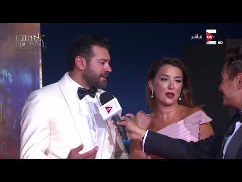 العرب اليوم - شاهد: عمرو يوسف وكندة علوش يتحدثان عن مشاركتهما في مهرجان الجونة