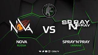 NOVA vs spray'n'pray, map 3 mirage, CIS Minor Closed Qualifier – PGL Major Krakow 2017