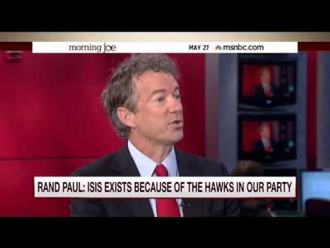 Reminder: Rand Paul warned us in 2015 how neo-con hawks were propping up ISIS and wanted to bomb Assad.