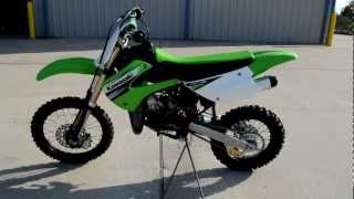 10. 2011 Kawasaki KX85 Youth Motocross Bike