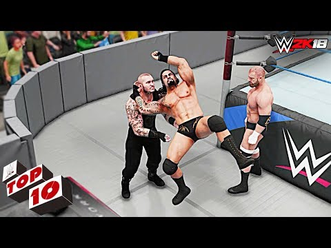 WWE 2K18 Top 10 Funny Finishers Swapping!