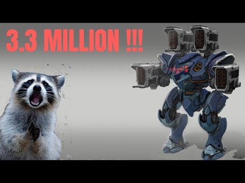 War Robots- 3.3 Million Damage!!! Highest WR Damage Record? 🔥