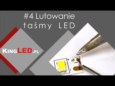 Lutowanie taśmy LED #4 _ Poradnik od KINGLED