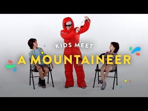 Kids Meet A Mountaineer | Kids Meet | HiHo Kids (видео)