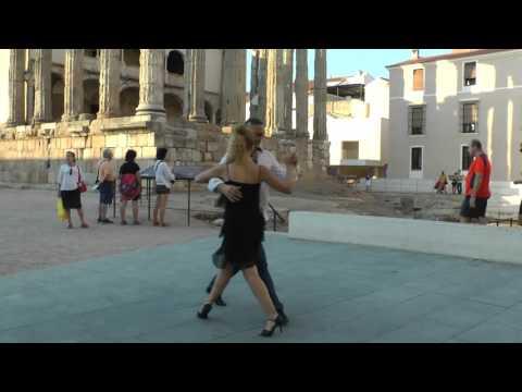 Yolanda y Charly tango (видео)