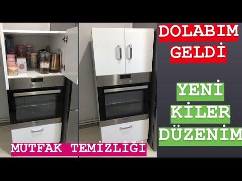 KİLER DÜZENİM🥰MUTFAK TEMİZLİĞİ🧽FIRIN DOLABIM GELDİ👍🏻 #vlog #düzen #temizlik #kilerdüzeni