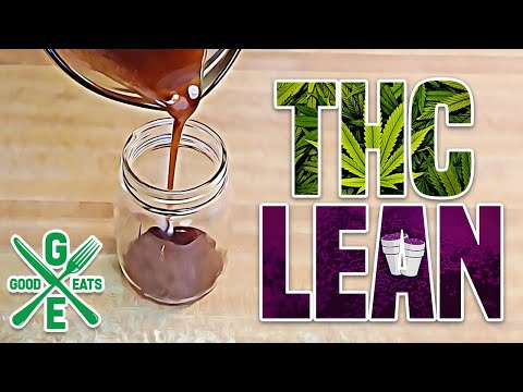 How To Make THC Lean (Cannabis Syrup) | GoodEats420.com