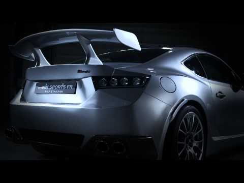 0 GRMN Sports FR Concept Platinum Toyota 86 is a Supercharged and Turbocharged Temptress [w/ Video]