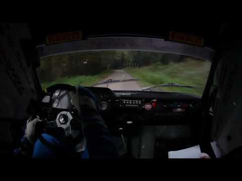 Szauer-Rácz Lada 2105 50.Mecsek Rallye 2016.SS3.-Lepold Sportvideo