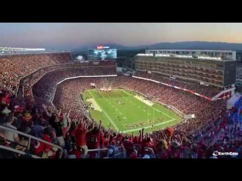 49ers - The most high-tech stadium required the most advanced webcam technology to document the construction progress from groundbreaking through opening day. Three EarthCam megapixel construction...