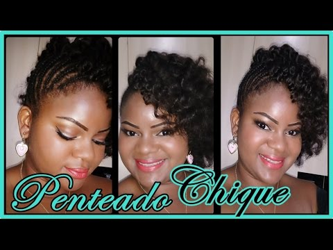 Penteado Lateral Chique - Tutorial ♡