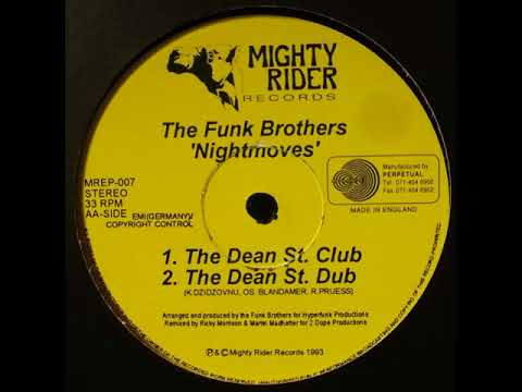 The Funk Brothers  ‎– Nightmoves (The Dean St. Dub)